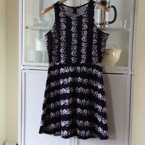 Floral Knit H & M Dress